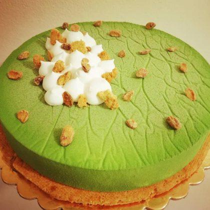 torta moderna al pistacchio
